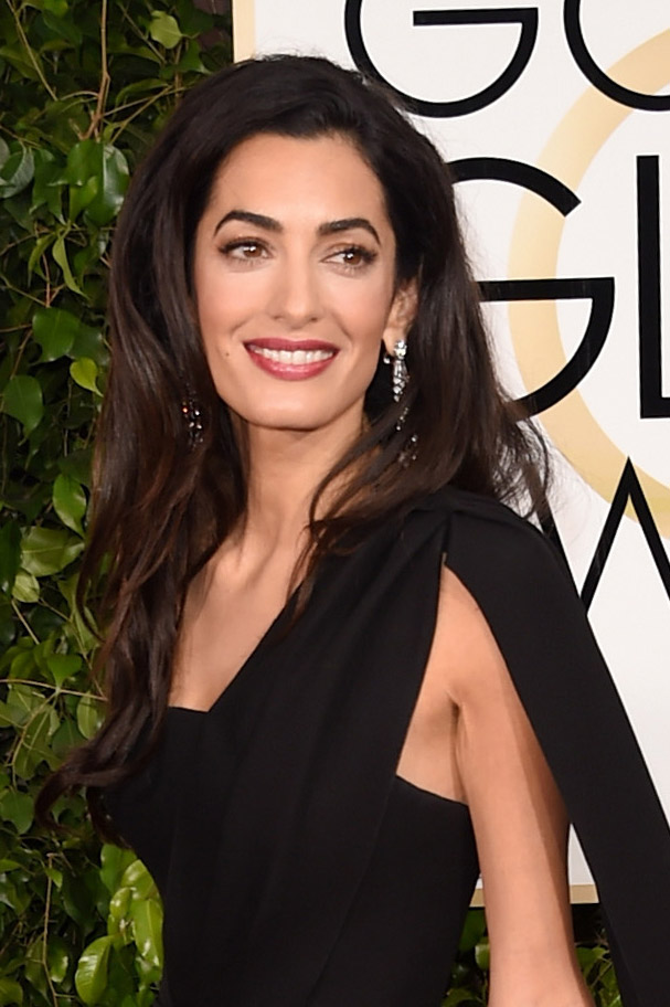 Golden Globes Red Carpet 2015 Beauty Trend Side Part Thefashionspot