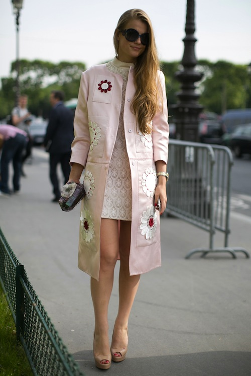 Fall 2013 Haute Couture Street Style