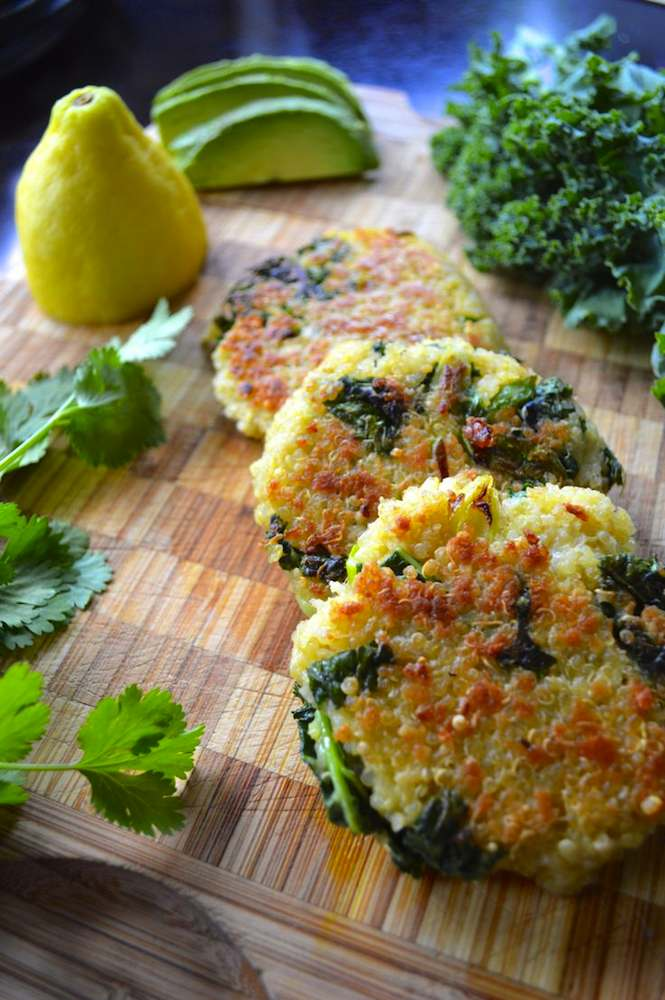 Kale and Quinoa Patties