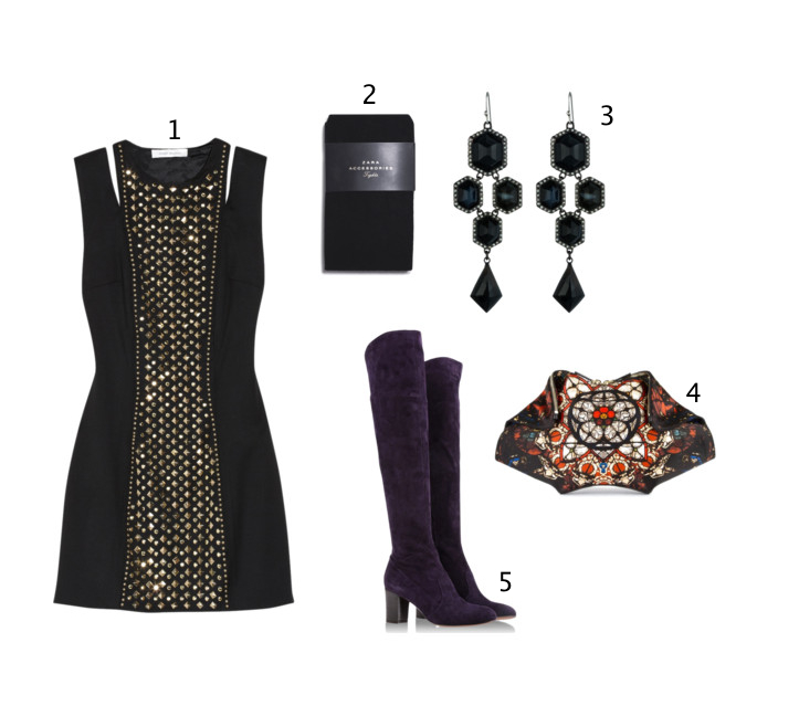What to wear uber cool downtown party looks