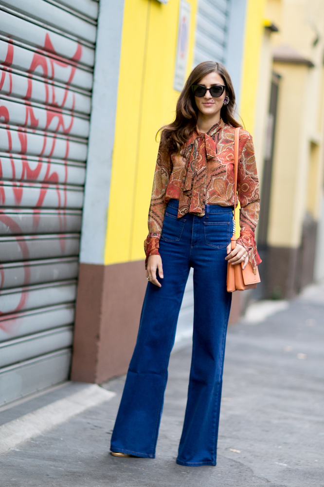 Outfit Ideas: How to Wear Wide-Leg Pants - theFashionSpot