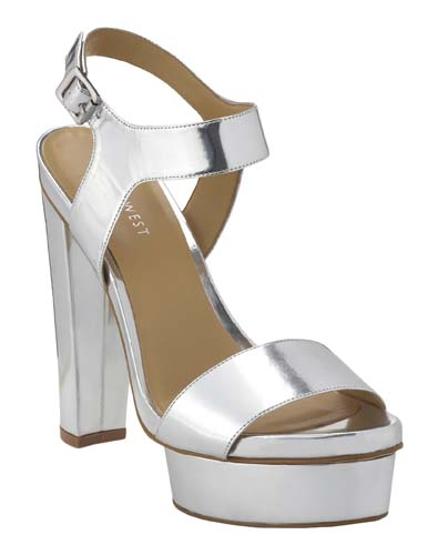 Metallic Sandals
