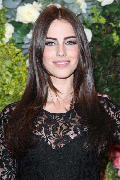 Jessica Lowndes' Blown-Out Look