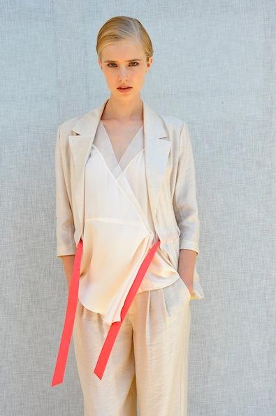 Rachel Roy Spring 2012: Think Pink