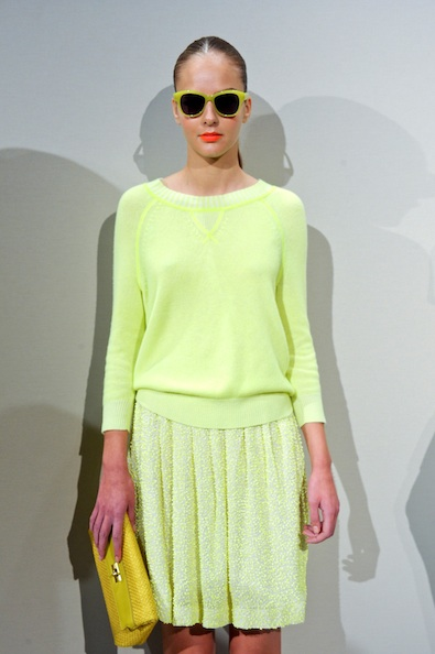 J.Crew's Pale Neon