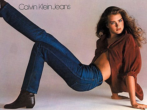 Brooke Shields for Calvin Klein