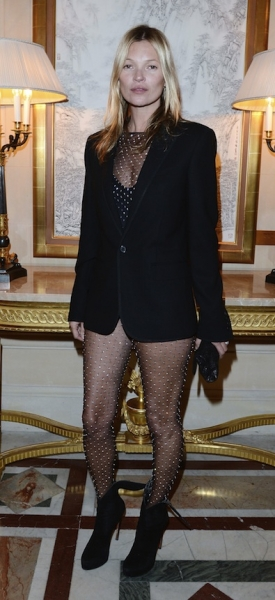 Kate Moss Forgets Her Pants