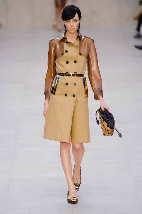 Cinched Trench Coats