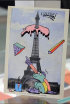 Arty French Postcard