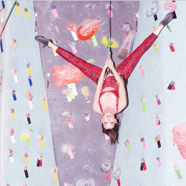 Rock Climbing with a Model