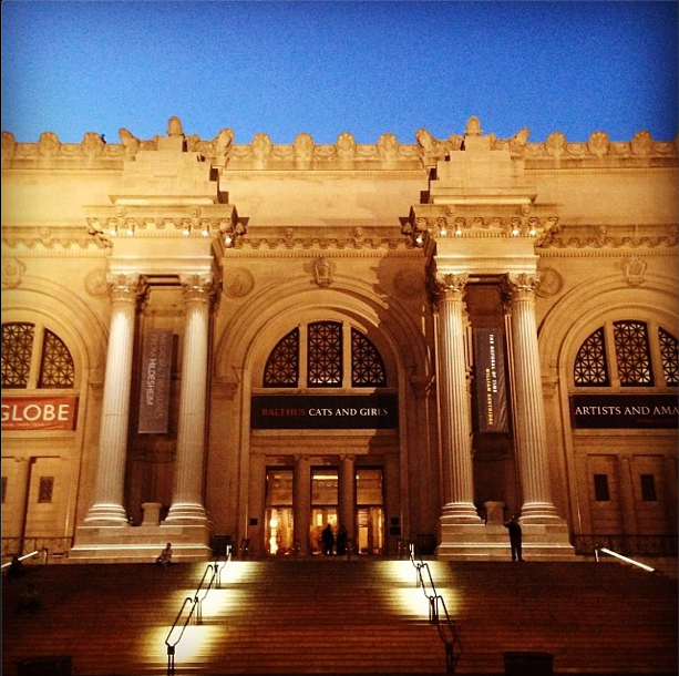 The Met at Dusk