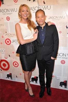 Blake Lively with Jason Wu