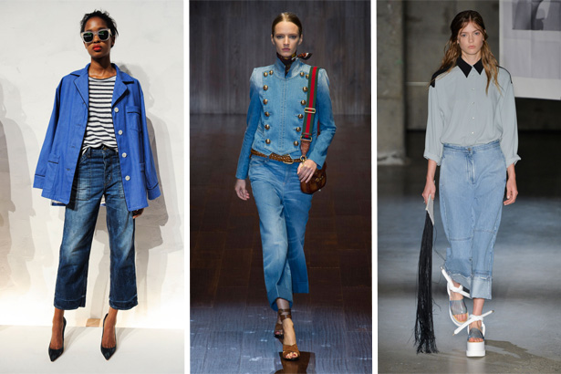 Top 6 Denim Trends for Spring 2015 - theFashionSpot