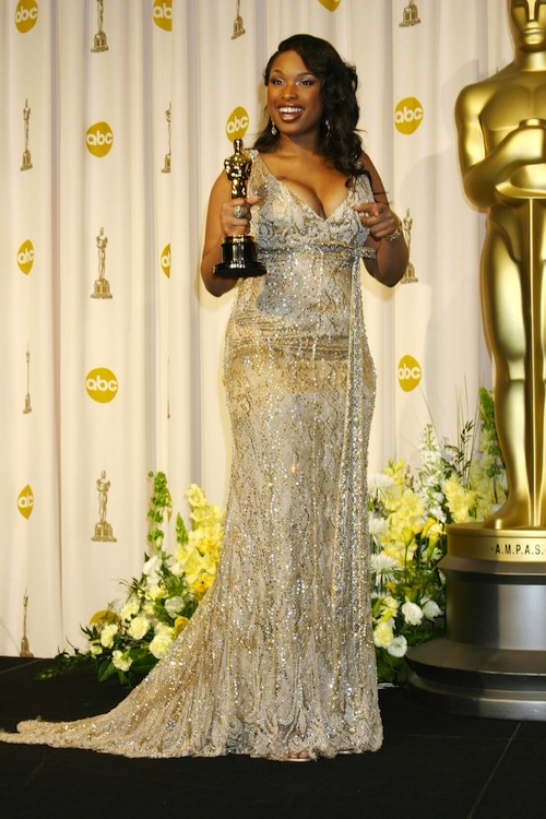 2. Jennifer Hudson at the 2007 Oscars in Roberto Cavalli