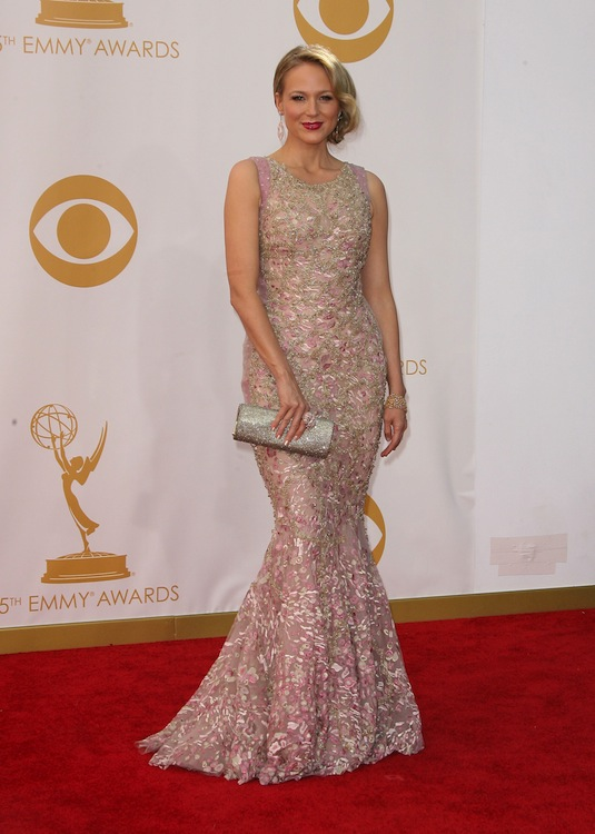 6. Jewel at the 2013 Emmys in Tony Ward