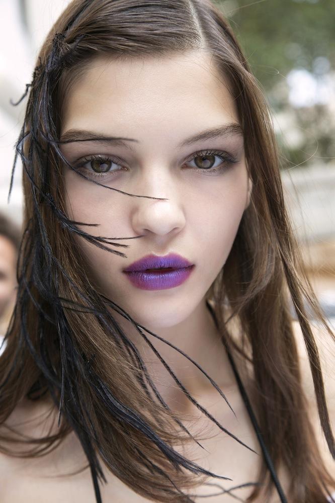 Vivid Violet at Marchesa
