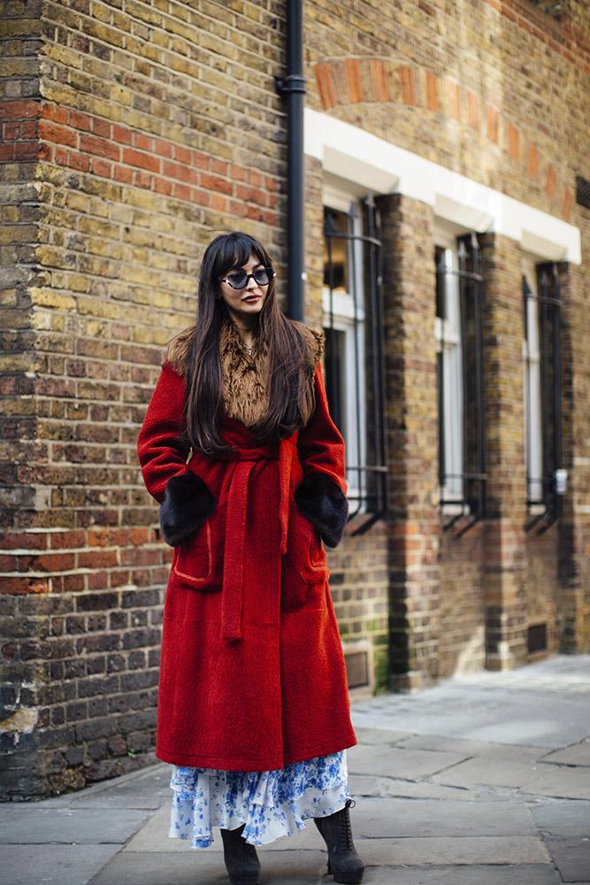 London Fashion Week Fall 2018 Street Style
