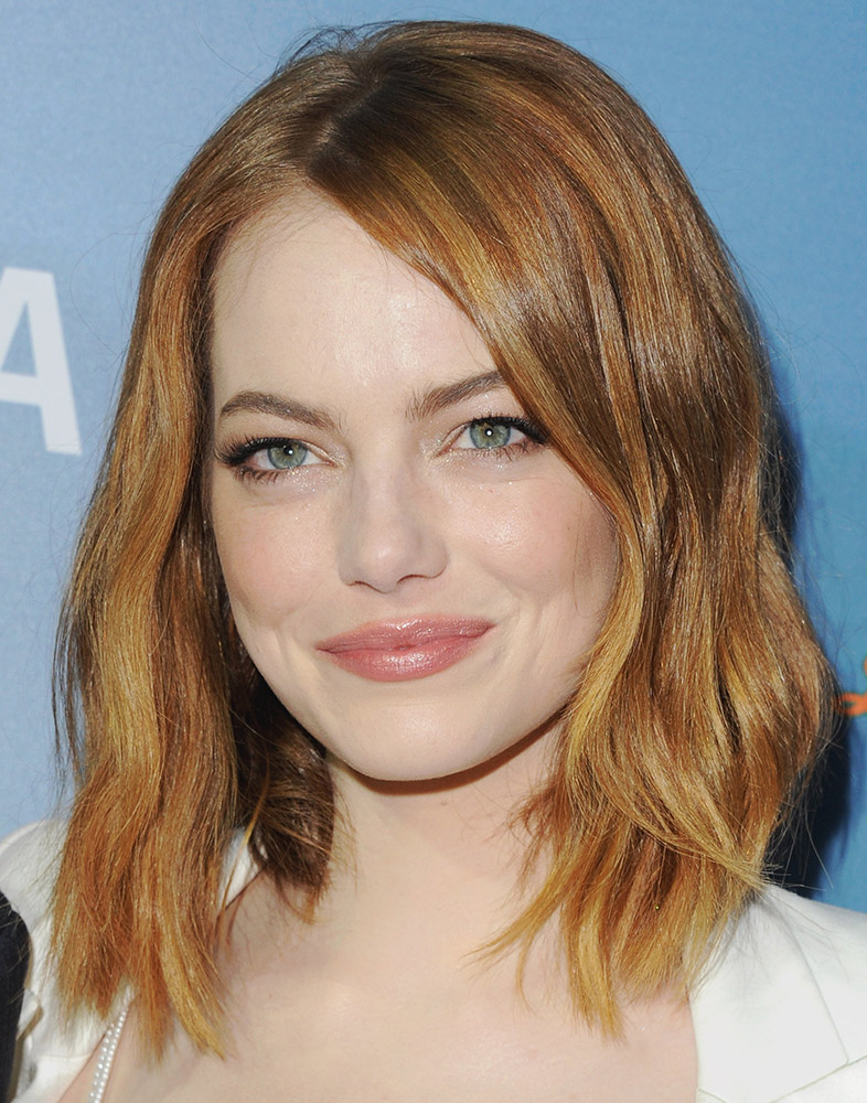 45 gorgeous celebrity lob and long bob haircuts to inspire your emma stone urmus Choice Image
