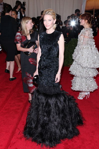 Cate Blanchett in Alexander McQueen