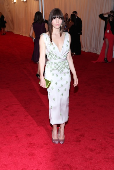 Jessica Biel in Prada