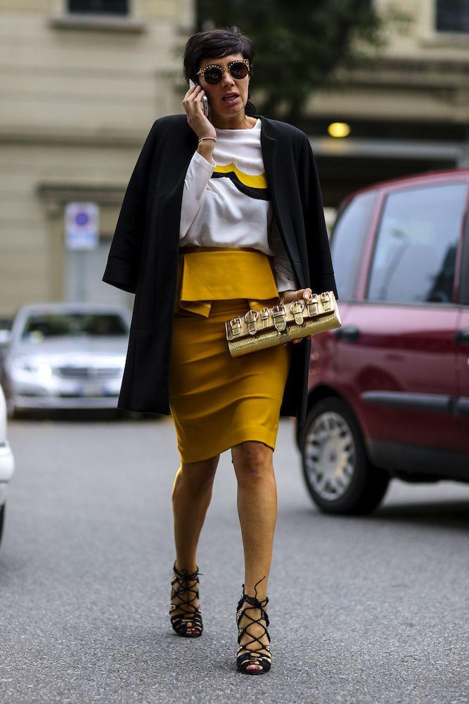 Milan Fashion Week Street Style Spring 2015 - theFashionSpot