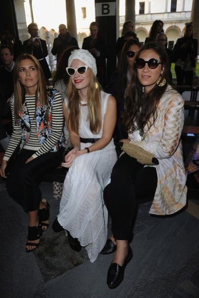 Dasha Zhukova, Eugenie Niarchos and Tatiana Santo Domingo