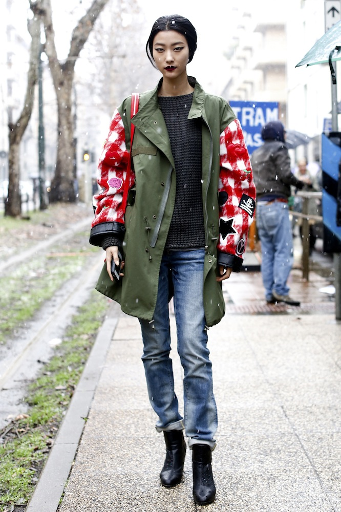 Cover Up in an Oversized Coat