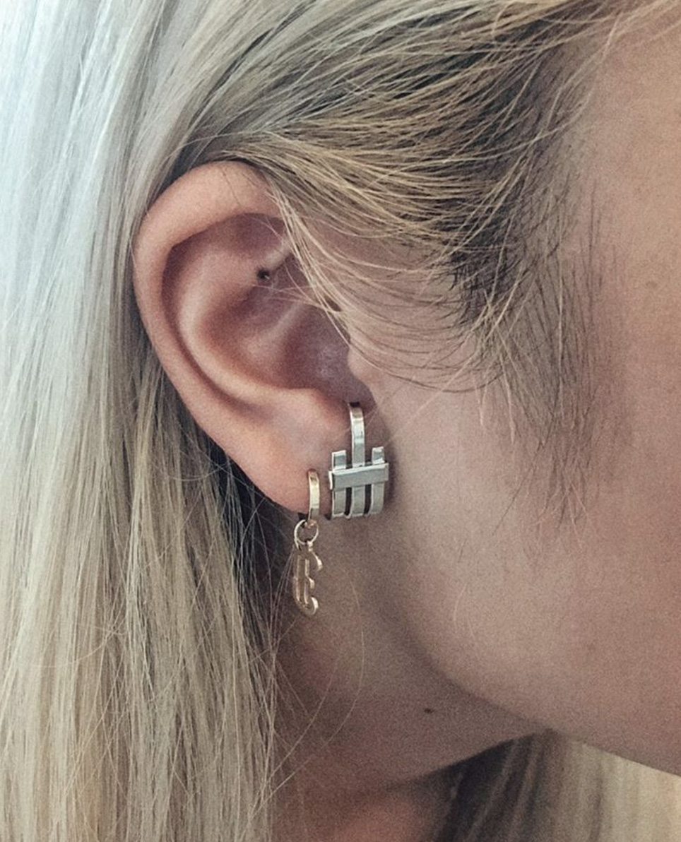 You Can't Go Wrong With Classic Yellow Gold For Those With A Slightly  Gauged Ear, We Highly Recommend The Multipleminihoopsinonehole Look