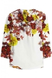 Erdem Alexandrea Printed Silk Top