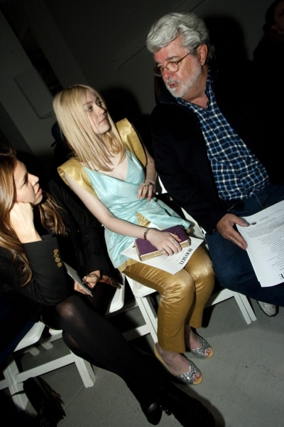 George Lucas Front Row at Rodarte