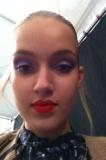 Hair and makeup at Charlotte Ronson