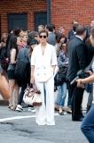 The white linen suit