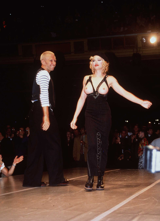 1992: Madonna for Jean Paul Gaultier