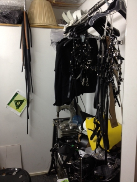 Harnesses by Zana Bayne for Norisol Ferrari