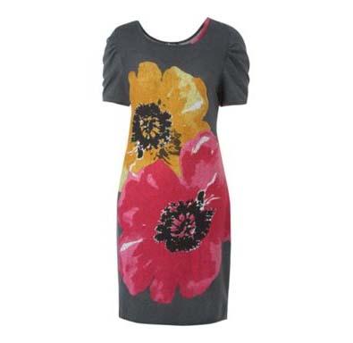 Sodamix Poppy Floral Dress