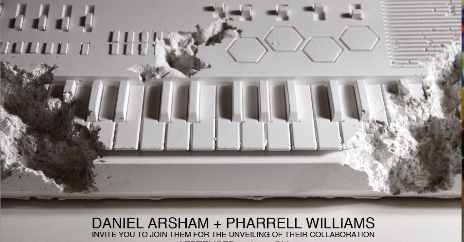 Daniel Arsham x Pharrell Williams