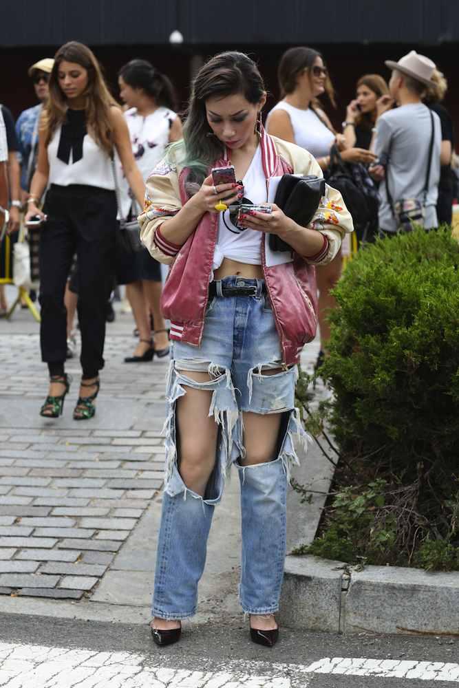 NYFW Spring 2015 Street Style