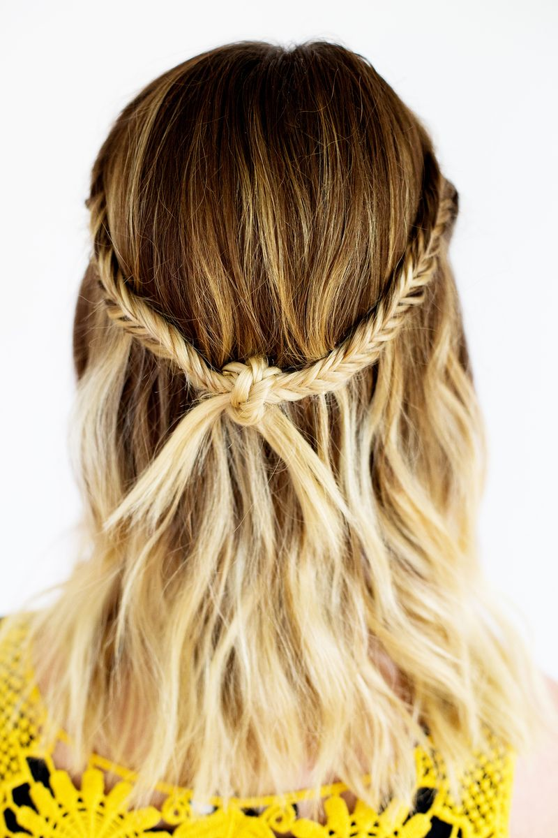 48 ombre hair color ideas were obsessed with thefashionspot knot braid urmus Gallery