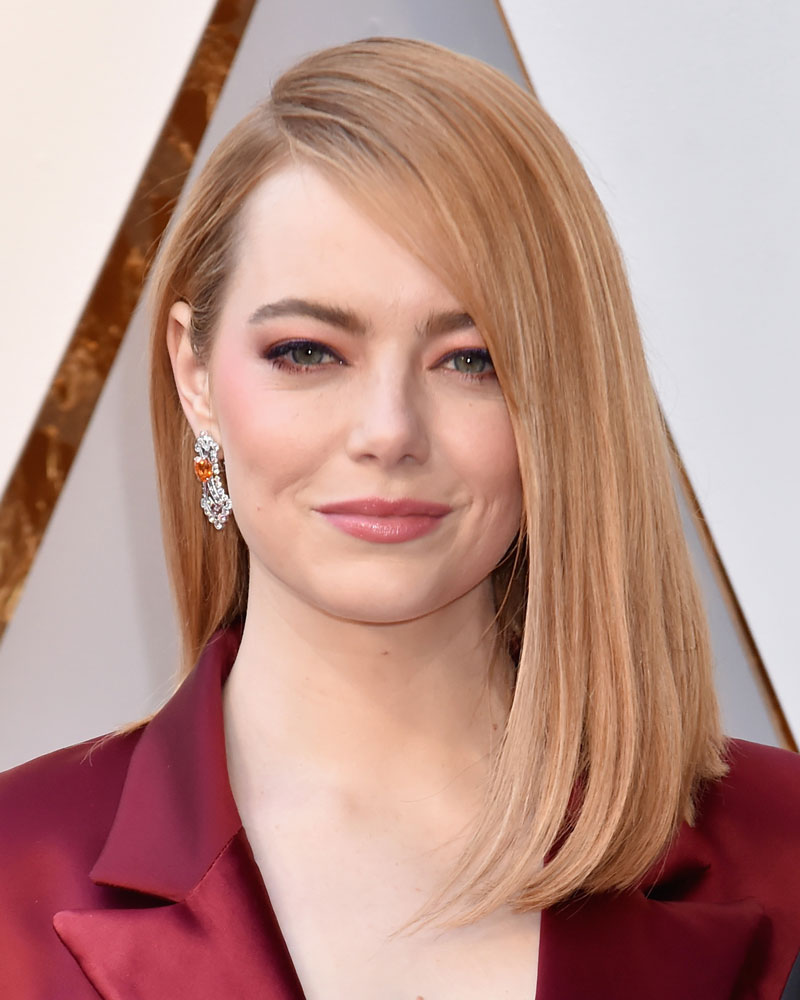 Best: Emma Stone  The Best (and Worst!) Beauty Looks From the 2018 Oscars emma stone