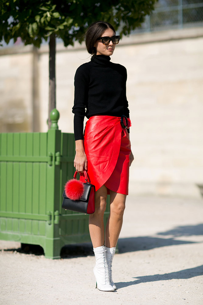 Street Style Paris Fashion Week Spring 2016 Thefashionspot