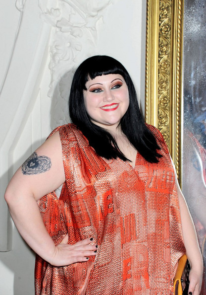 Beth Ditto at Gaultier