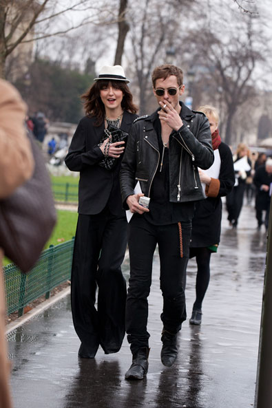Irina Lazareanu after Chanel