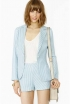 NastyGal Savannah Striped Blazer