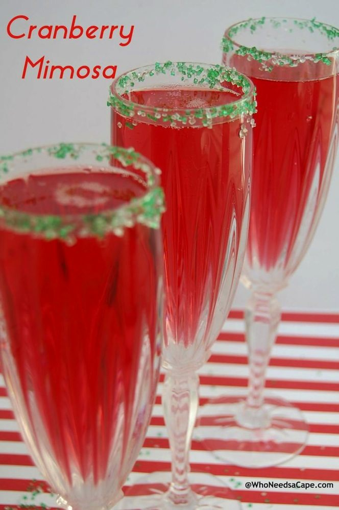 The Best Holiday Cocktail Recipes on Pinterest - theFashionSpot