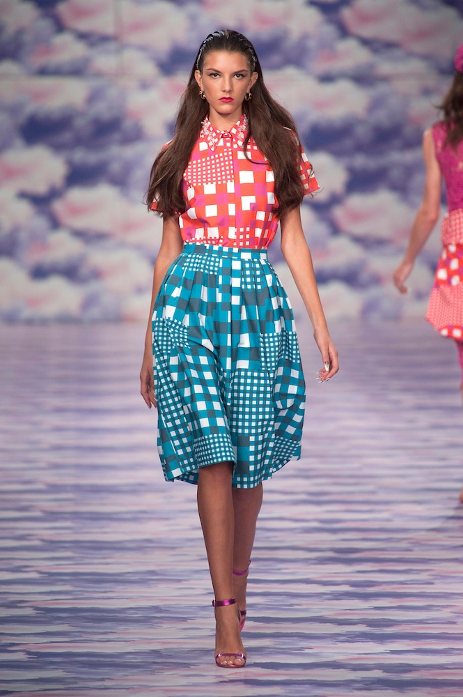 Gingham at House of Holland
