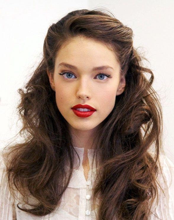 prom hairstyle Vintage