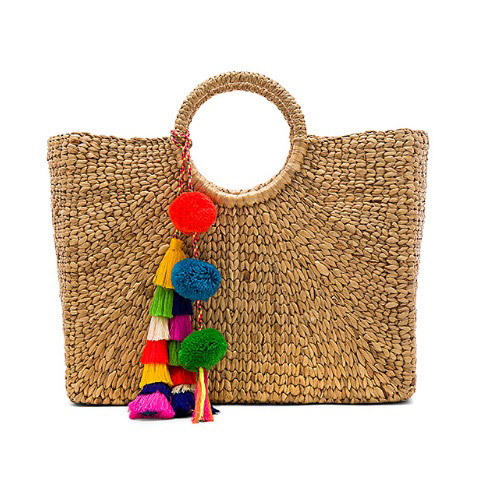 JADEtribe  Raffia and Straw Basket Bags Are the Surprising City Essential for Spring 2018 jadetribe square basket