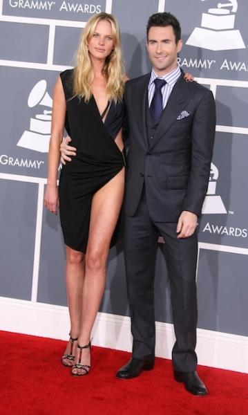 Adam Levine and Anne V