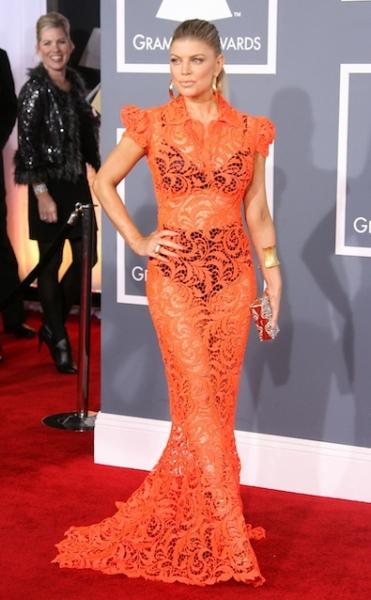 Fergie in Jean Paul Gaultier Couture
