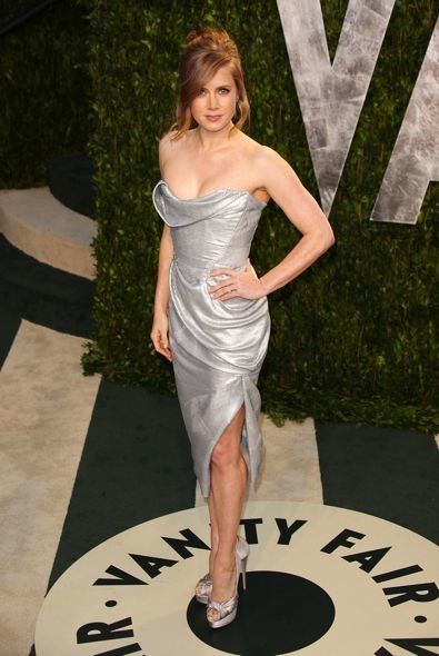 Amy Adams at the 2012 Vanity Fair Oscar Party